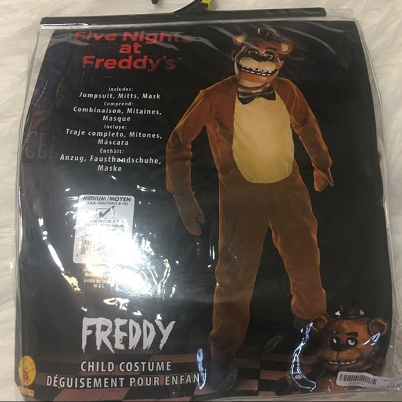 Costumes Five Nights At Freddys Halloween Costume Poshmark