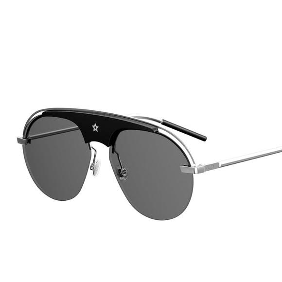 0447a71d304 Dior Dio(R)evolution Sunglasses Silver Black 2017