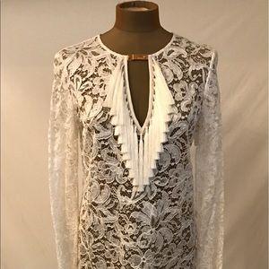 Emilio Pucci Couture Designer Lace Dress