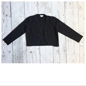 Maison Jules Black Cropped Open Cardigan 🍍