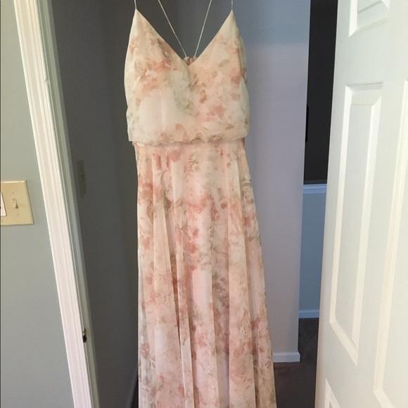 Jenny Yoo Dresses   Skirts - BHLDN Jenny Yoo Inesse dress in Blush Multi 2548427359cab
