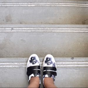 Floral sneakers from Nine West