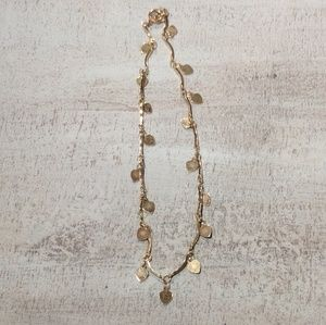 Jewelry - Gold heart anklet