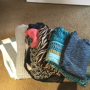 Accessories - Bundle!! 6 scarves for the price of one!!