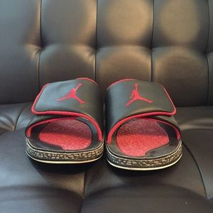 471647004 Shoes - RARE Men s Jordan retro 3 black cement slides