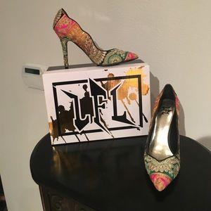 LFL L-Jewel Multicolor Heels