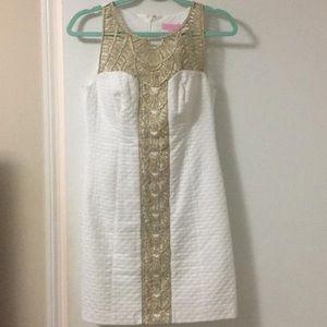 Lilly Pulitzer Tana Shift Dress, White