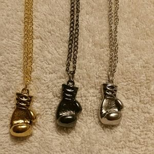 Other - Boxing glove necklace