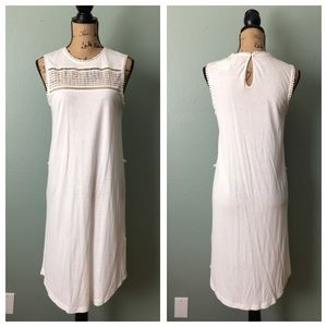 NWT H&M size small cream colored lightweight dress
