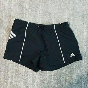 Adidas Black Workout Shorts Size Small