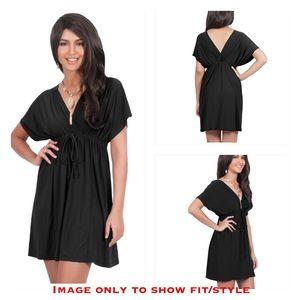 Dresses & Skirts - V-Neck Caftan Beach Summer Dress /Komono / Coverup