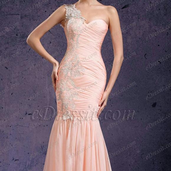 35e8248f8954 eDressit.com Dresses & Skirts - Elegant blush pink one shoulder gown ( uk 8