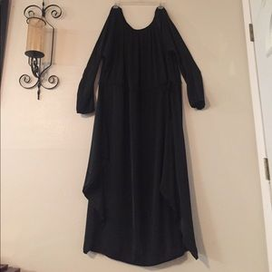 Dresses & Skirts - Coleen Log Dress Black Long Sleeve