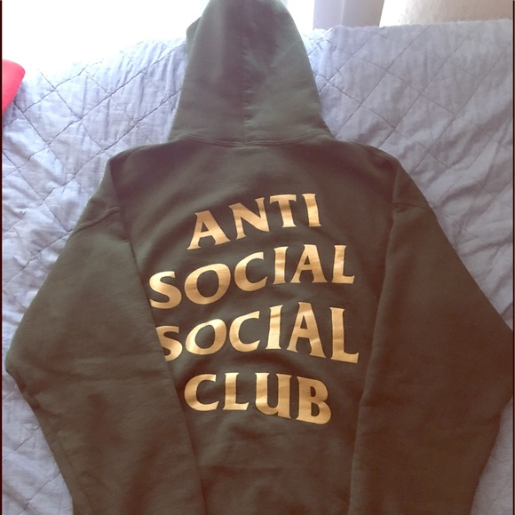 the latest 2eadc 2059d Anti Social Social Club Sweaters - Authentic anti social social club hoodie