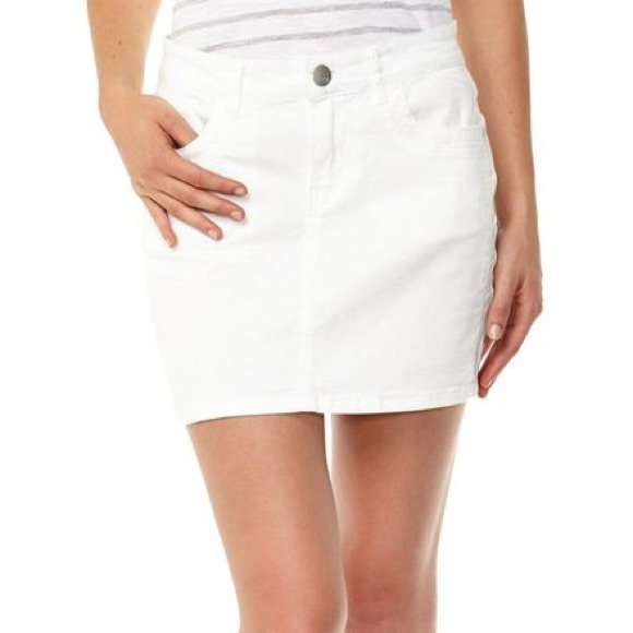 a2e87e3e5c Cotton On Skirts | White Denim Mini Skirt | Poshmark