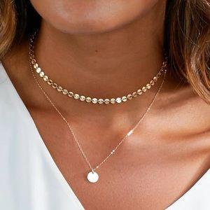 Coin Dainty Feminine Necklace