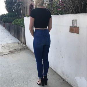 Denim - NWT High Waisted Blue Jean Skinnies