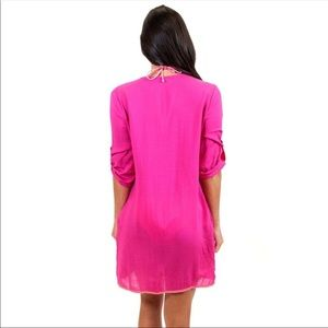 All For Color Swim - ❤️All For Color Pink Tunic Dress