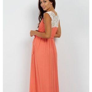 Maternity/ Nursing Dress Pinkblush Maxi Dress