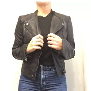 TOPSHOP Women's Leather Jacket