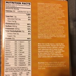 Other - 2 Boxes AdvoCare Meal Replacement Shakes