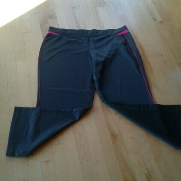 Athletic Works - Womens Work Out Pants Xl 1618 From -9827