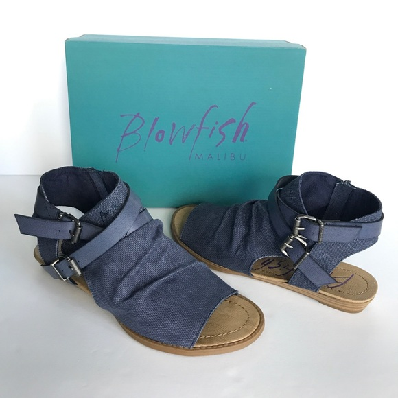 bd7f87f8ed0f Blowfish Shoes - BLOWFISH Brisa Indigo Rancher