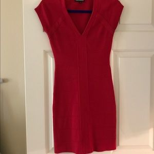 Red body-con Dress