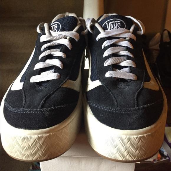 Shipley Brillar Toro  Vans Shoes | Vintage Vans 9s Platform Skate Sneakers | Poshmark