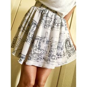 AMERICAL APPAREL Chiffon Skirt
