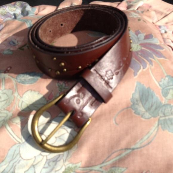 Nocona Western Leather MoneyBelt 1-1-2 inch Brown//DK Brown