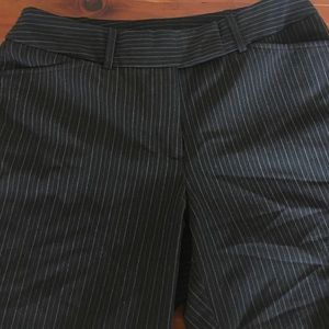 Pinstriped Dress Pants