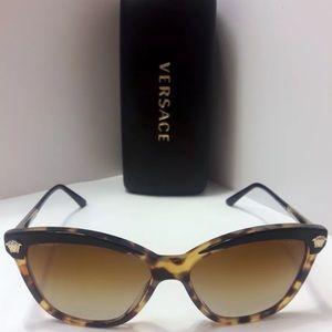 Versace Tortoise Sunglasses