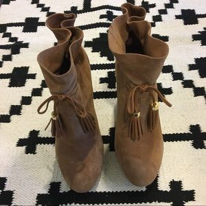Louise Et Cie Shoes - Louise Et Cie taedin brown tassel bootie