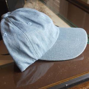 Accessories - Light blue denim baseball cap