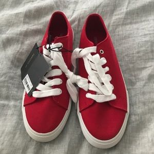 Forever 21 Red Tennis Shoes Size 7