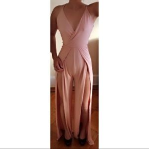 Other - Dusty Pink Puma Jumpsuit