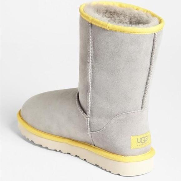 ugg yellow