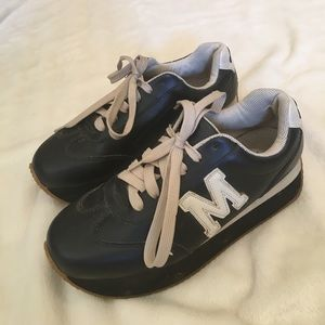 "Steve Madden Leather ""Manford"" Sneakers"