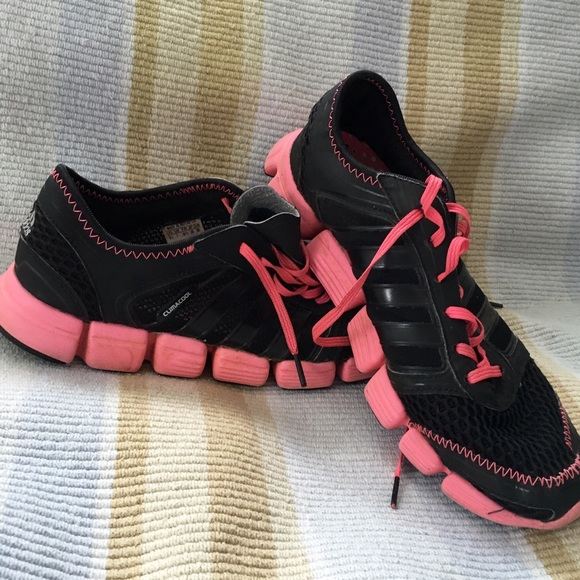 77868d807 Adidas Shoes - Women s Adidas Climacool 8.5 Pink Black Shoes