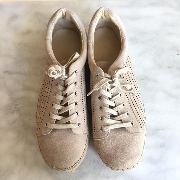 76e9b1abc Marc Fisher Shoes | Mandal Perforated Platform Espadrilles Sneaker ...