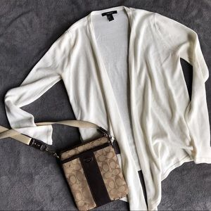 F21 Cream Sweater - M