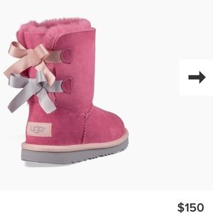 UGG Bailey Bow (Hot Pink)