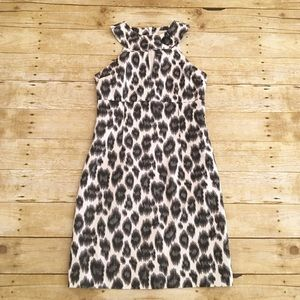 Black/white Michael Michael Kors textured dress, 4