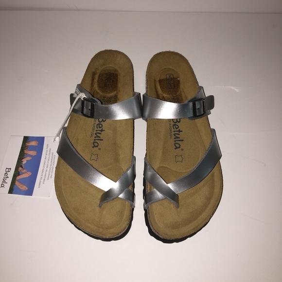 0f4a045c1 Betula by Birkenstock Shoes - Betula by Birkenstock Mia Birko Flor Sandals  Sz 38