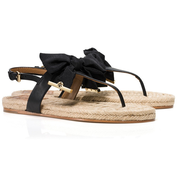d4ce8f8deae ... purchase tory burch grosgrain ribbon bow espadrille sandal 0b286 64a29