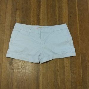 Zara powder blue shorts