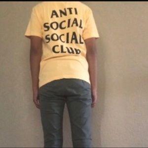 cc3e66e03 Anti Social Social Club Tops - Anti social social club shirt