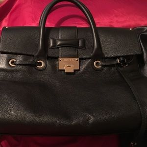 Used Authentic Xlarge   bag Jimmy Choo