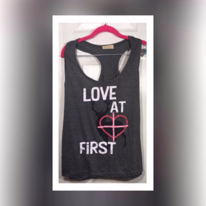 Love at First Shot Tank Top